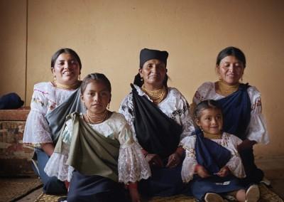 Ein Teppich aus Ecuador