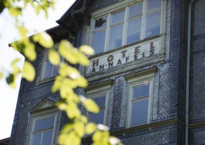 """Das Hotel """"Annafels"""" in Sitzendorf steht leer"""